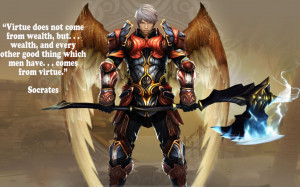 Socrates Quote Of Aion Wallpaper | Socrates Quote Of Aion Desktop ...