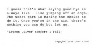 Before i fall. Lauren Oliver