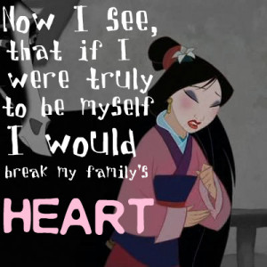 Princess Day#4: Best Mulan quote countdown (You have whole quote ...