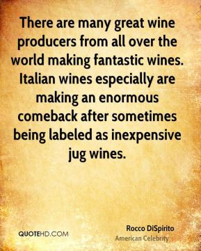 great wine producers from all over the world making fantastic wines ...