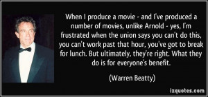 More Warren Beatty Quotes