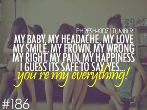 Displaying (15) Gallery Images For Your My Everything Quotes...