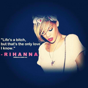 Quotes music on Pinterest | Rihanna Quotes, Rihanna and Good Girl