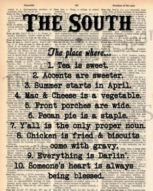 Shout out to my southern friends and followers.