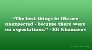 Eli Khamarov Quote