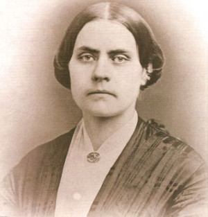 Susan B. Anthony fought for women's right to vote