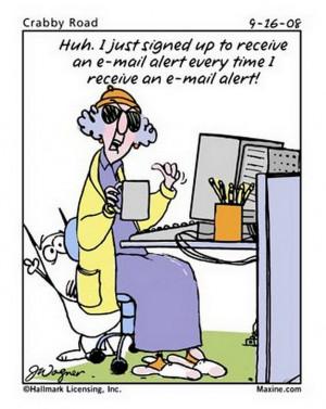 10 Maxine cartoons that I found mildly amusing.