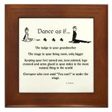Cute Irish sayings Framed Tile