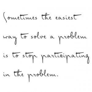 Solving a Problem #quotes #problems
