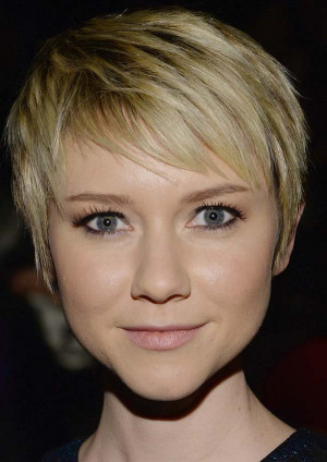 100 Short Hairstyles for Women 2014: Valorie Curry