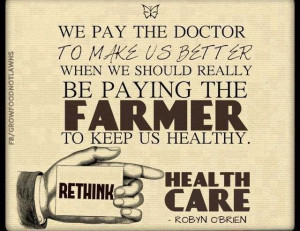 TRUTH! #health #farmer #doctor #healthcare #truth #quotes #healthy # ...