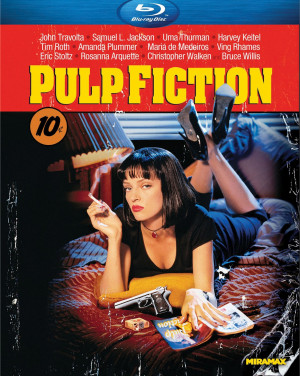 PULP FICTION: Blu-ray (Miramax 1994) Alliance Home Video