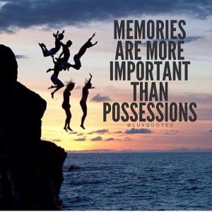 Memories can last a lifetime