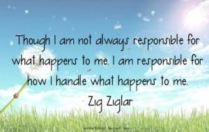 Responsibility quotes, motivational, sayings, zig ziglar
