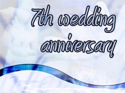 7th Wedding Anniversary Wishes