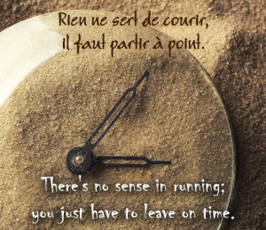 French Love Phrases With English Translation French quote on time