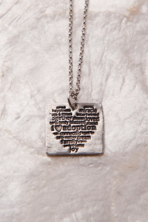 Adoption, I Love Adoption Necklace, Adoption Gifts, Adoption Sayings ...
