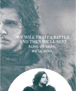 Jon Snow - Alive Or Dead