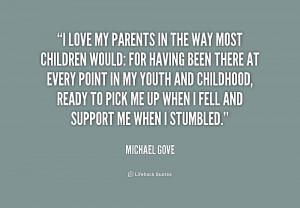 love my parents quotes