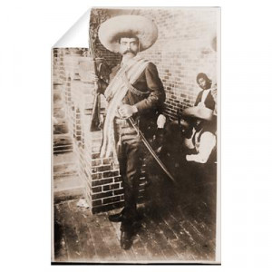 ... Wall Art > Wall Decals > Emiliano Zapata Mexican Revolution Wall Decal