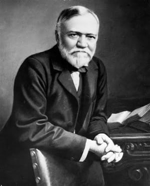 andrew carneie 78 quotes from andrew carnegie: 'a library outranks any other one thing a community can do to benefit its people it is a never failing spring in the desert', 'as i grow older, i pay less.