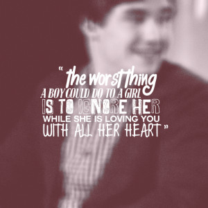 Liam Payne Quote (About girl, heart, love, worst thing)