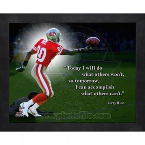 Home Jerry Rice Pro Quote (AAPI119)