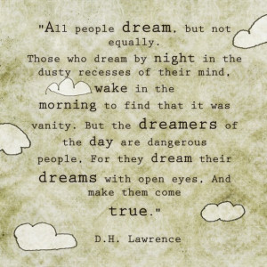 Success quotes all people dream but not ussually quote on blur paper