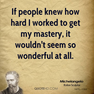 Quotes by Michelangelo