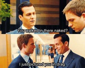 Best #Suits TV quote