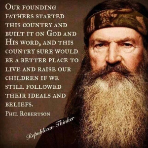 ... Robertson - Duck Commander -