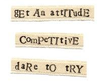 """Get An Attitude Competitive Dare To Try """" ~ Sports Quote"""