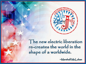 The new electric liberation re-creates the world in theshape of a ...