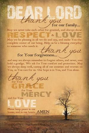 Family Prayer :)