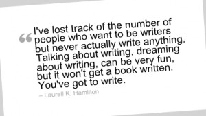Writing Quote by Laurell K. Hamilton - I've lost track of the number ...