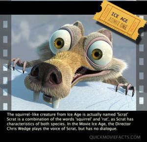 IceAge Movie Fact
