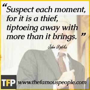 John Updike Novelist Quote