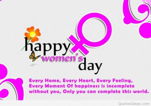Happy women's day 8 march quotes and sayings