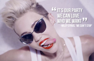 Miley Cyrus Song Quotes From Bangerz Miley cyrus bangerz we can't