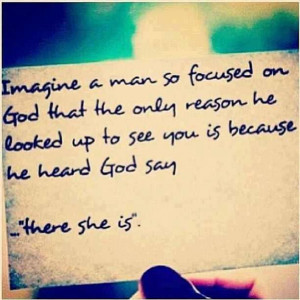 Imagine a man so focused on God that the only reason he looked up to ...