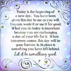 From Positivity Outlook