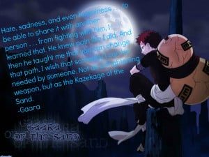 Gaara Of The Sand Quotes (26)