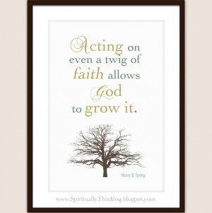Henry B. Eyring: Spirituality Speak, Allowance God, Quotes, General ...