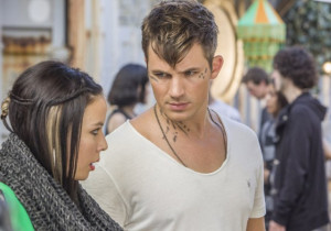 Still of Malese Jow and Matt Lanter in Star-Crossed (2014)