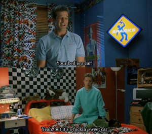 Tagged: #grandmas boy #lol #funny #movies #quotes #quotes #bed #cars