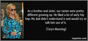 Quotes About Brothers And Sisters Growing Up As a brother and sister ...