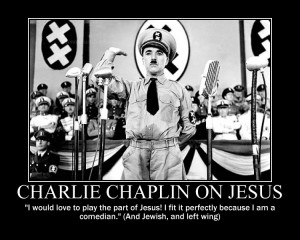 Charlie Chaplin on Jesus by fiskefyren