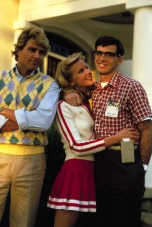 ... McGinley And Julia Montgomery In Revenge Of The Nerds (1984) Picture