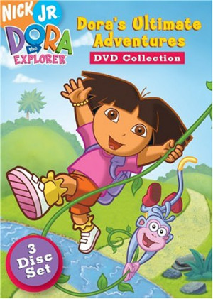 DVD Cover of Dora the Explorer - Dora's Ultimate Adventure Collection
