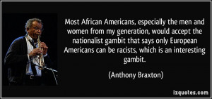 Quotes By African Americans